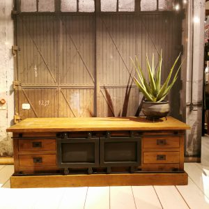 TV dressoir teak